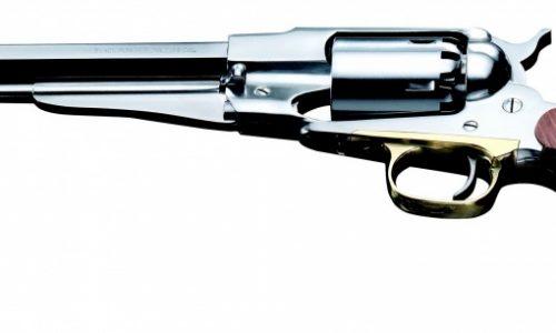 Pistolet poudre noire - revolver 1858 remington