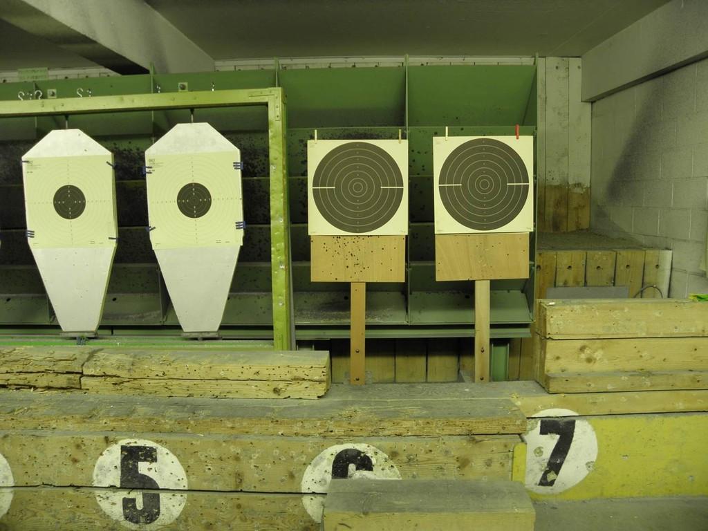 ciblerie 25m pistolet VO + C50